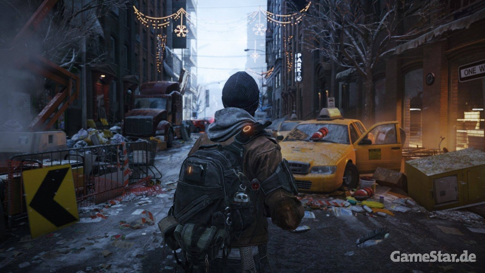 Tom Clancy's The Devision: Snowdrop-Engine von Massive