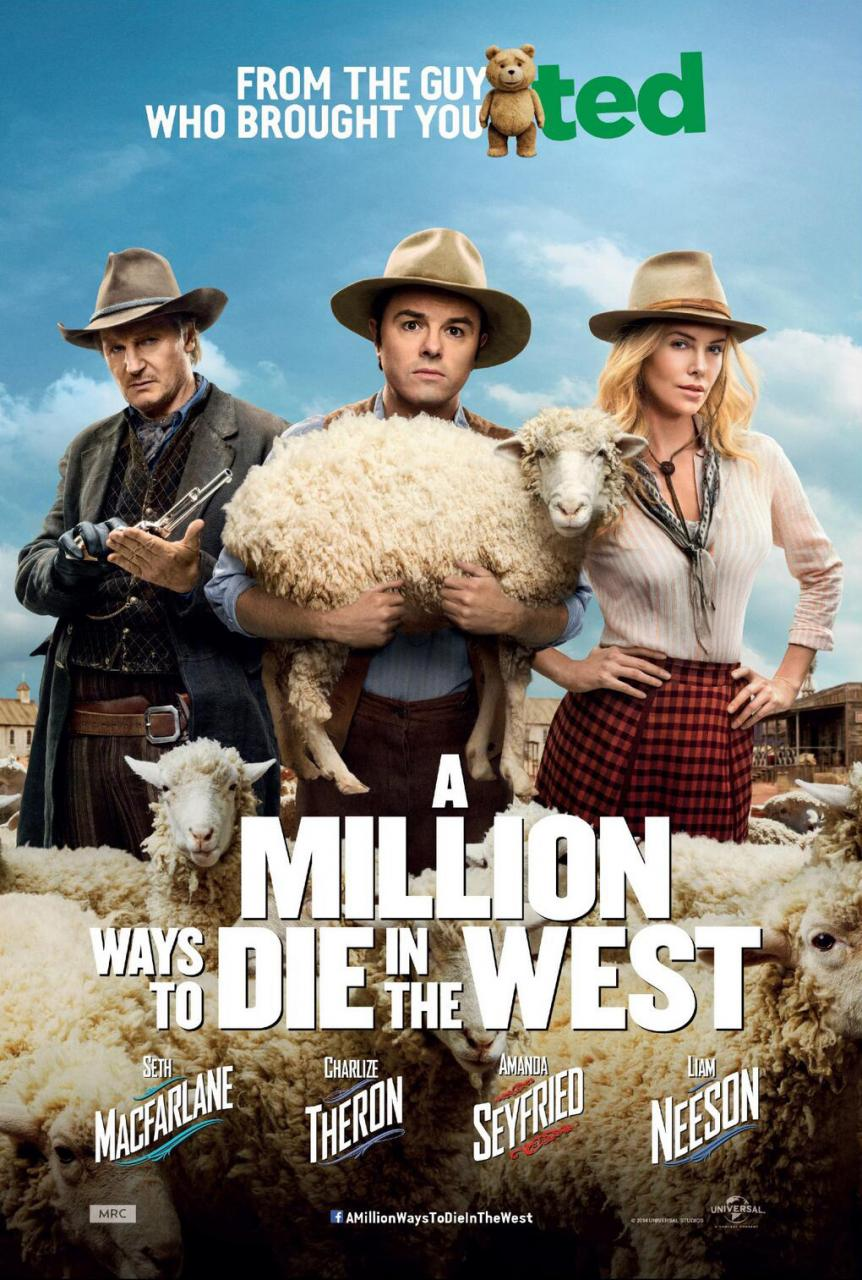Filmkritik: A Million Ways To Die In The West